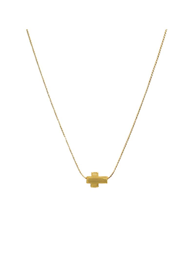 Cadena cruz horizontal